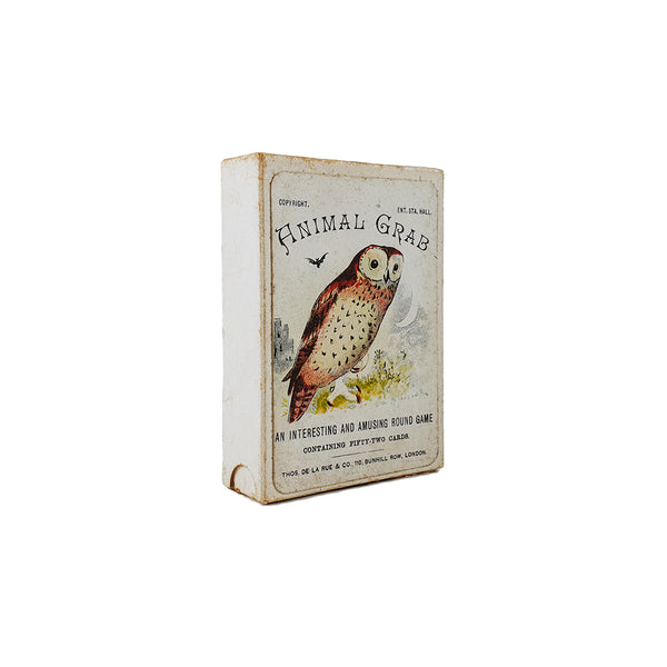 Animal grab card game de la rue - 1900s
