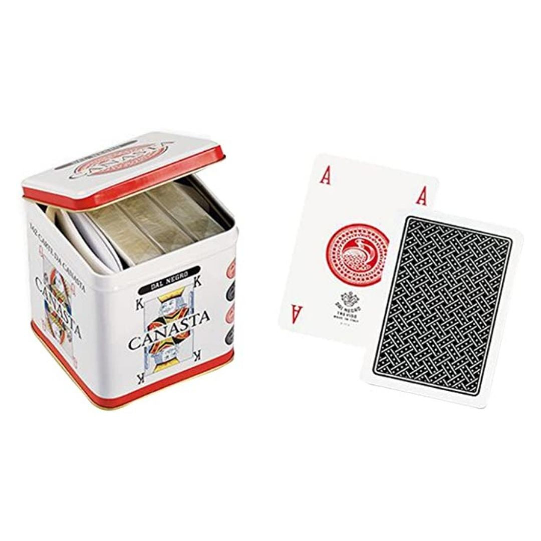 Canasta tin set (three decks)