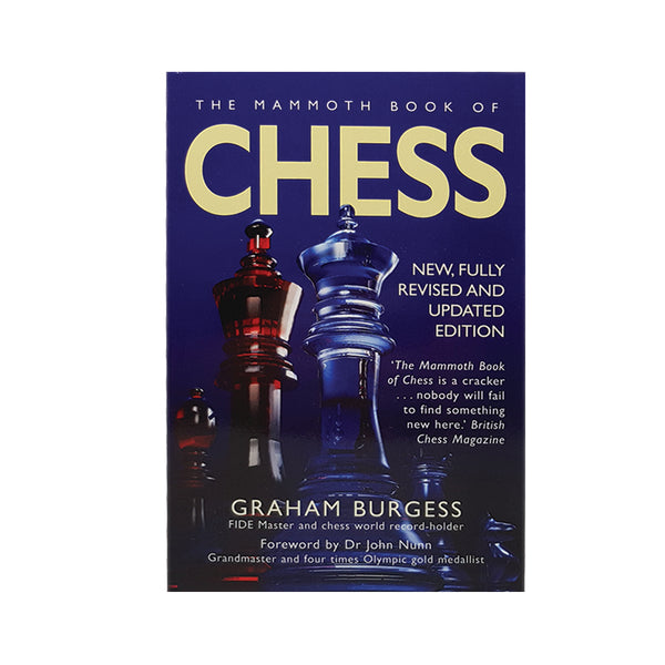 The Mammoth Book of Chess, front cover
