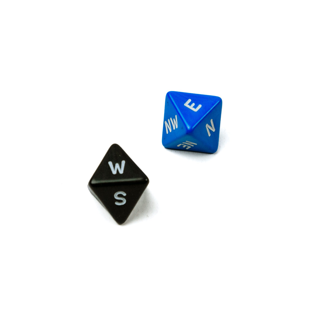 Compass Dice (8-sided)