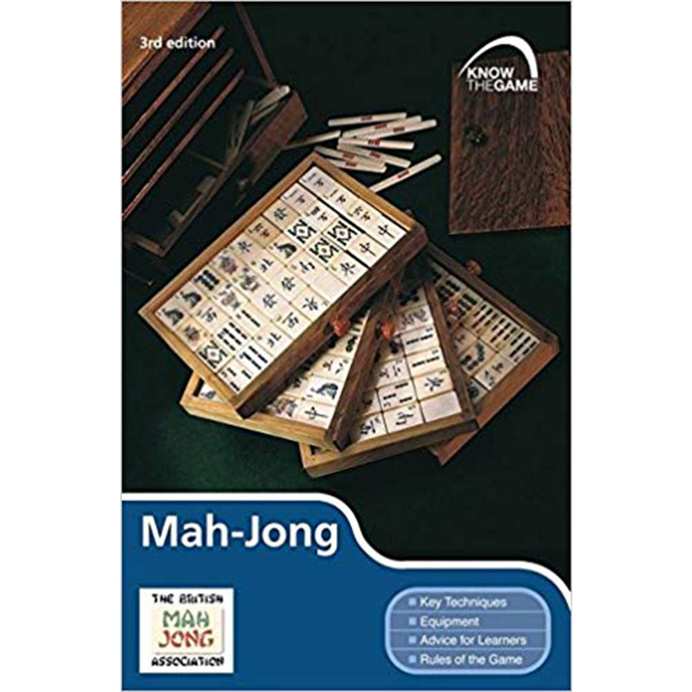 Know the game: mah jong. Book cover.