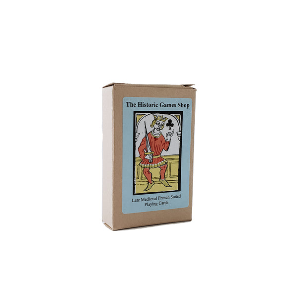 Late medieval french suited playing cards reproduction