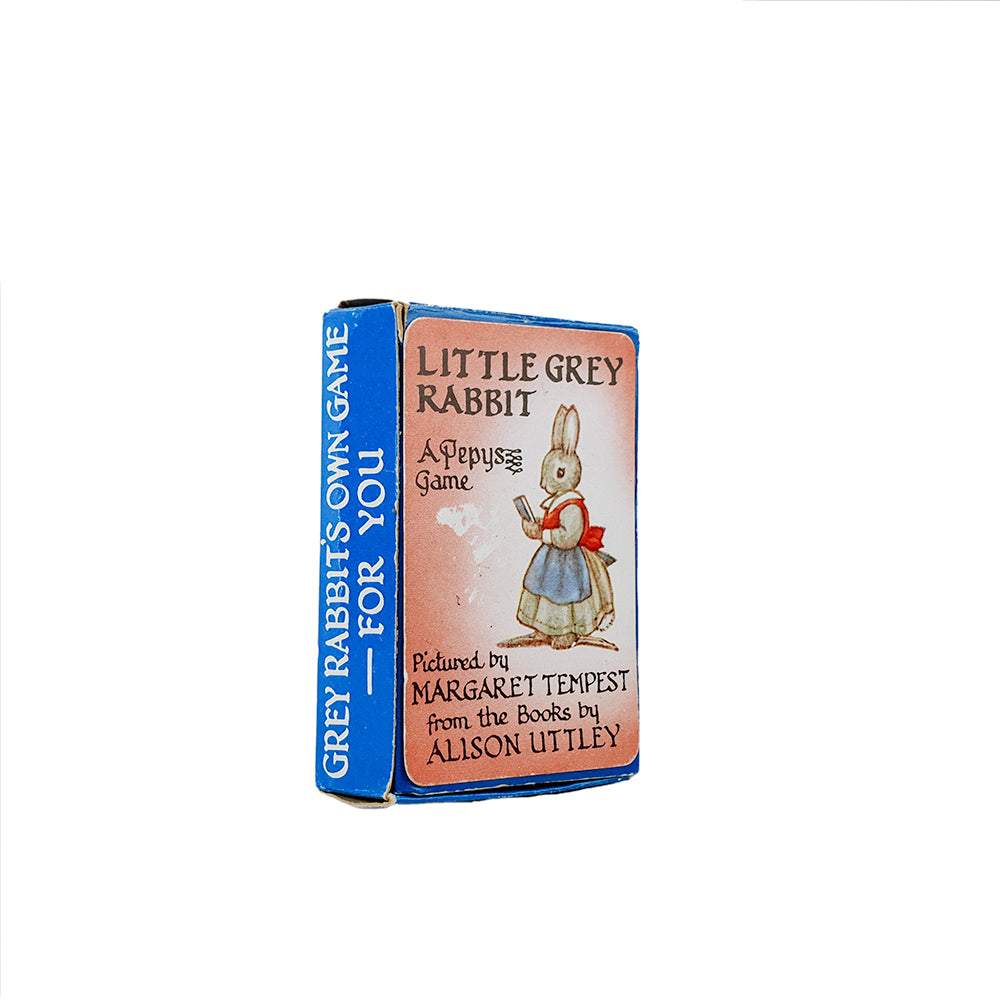 Little grey rabbit pepys card game - 1960s