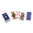 Italian Milan regional playing cards (blue)