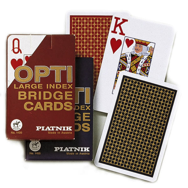 Opti bridge cards: Piatnik