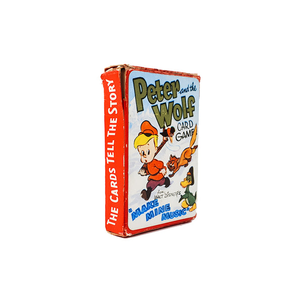 Peter and the Wolf Walt Disney Pepys card game - 1960s