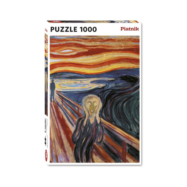 Munch The Scream jigsaw puzzle (1000px)