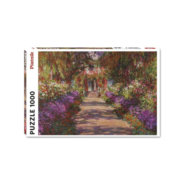 Monet's Garden at Giverney jigsaw puzzle (1000px)