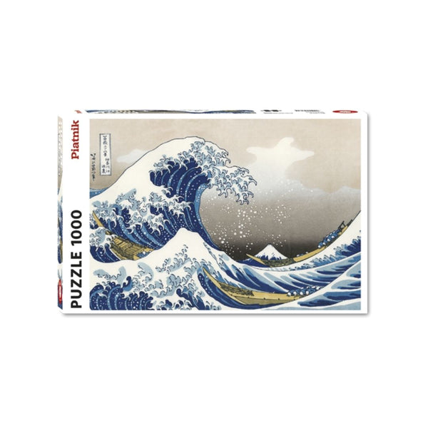 The Great Wave Hokusai jigsaw puzzle (1000px)