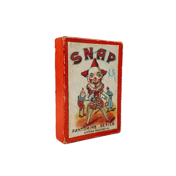 Snap card game Pantomime series - 1920s