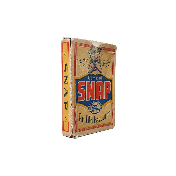 Snap cow and gate 'smiler' card game - c.1930