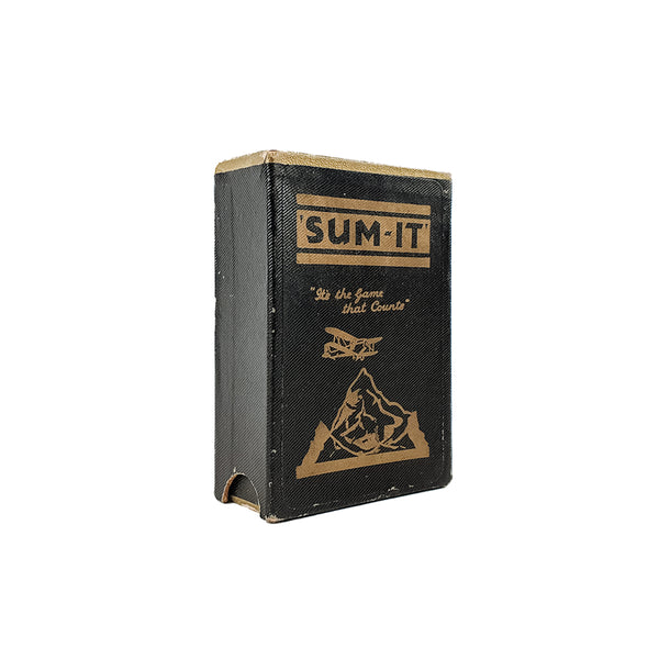 Summit card game - 1930s