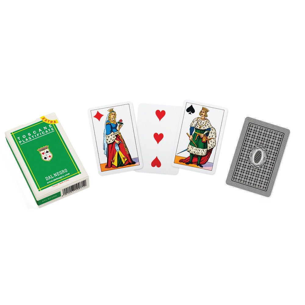 Italian regional playing cards: Tuscany (green)