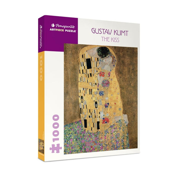 Gustav Klimt: The Kiss jigsaw puzzle (1000px)