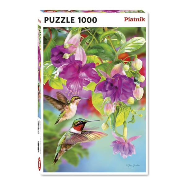 Hummingbirds jigsaw puzzle (1000px)
