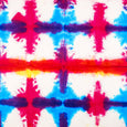 Multicolour tie-dye wrapping paper