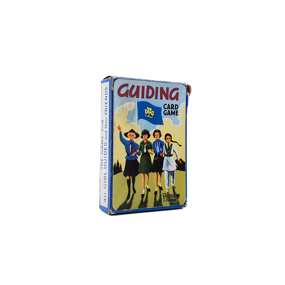 Guiding pepys card game - 1970s
