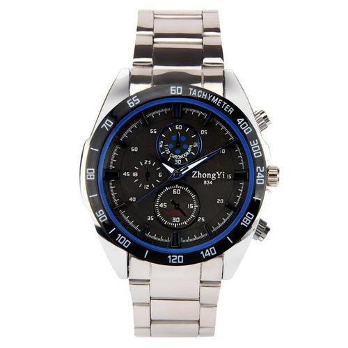 Stainless Steel Sport Watch