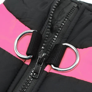 Waterproof/Windproof  Winter Pink Jacket dogs clothing collection