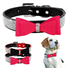 Load image into Gallery viewer, Bow Tie Diamonds Collars - FunnyPaws