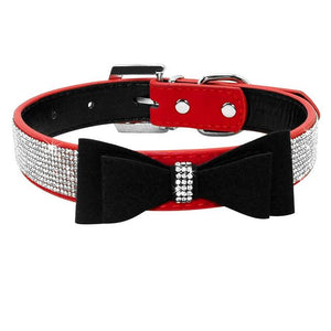 Bow Tie Diamonds Collars - FunnyPaws