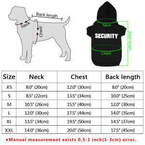 Security Jumpsuit - FunnyPaws