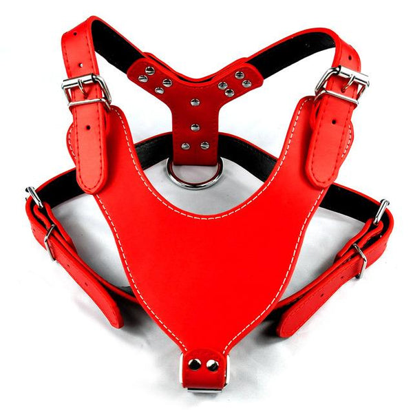 Leather Dog Harness - FunnyPaws