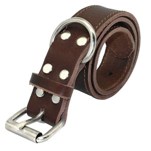 Classy Leather Dog Collar - FunnyPaws