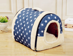 Stylish Small-Medium Dogs and Cat Bed House - FunnyPaws