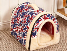 Load image into Gallery viewer, Stylish Small-Medium Dogs and Cat Bed House - FunnyPaws