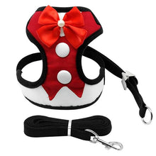 Load image into Gallery viewer, Bow Tuxedo Dog Harness - FunnyPaws