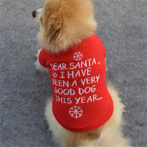 """Dear Santa, I have been a very good Dog this Year"""