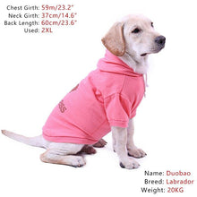 Load image into Gallery viewer, Princess Pink dog hoodie