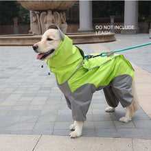 Load image into Gallery viewer, Cute dog wearing Waterproof Windproof warm jacket