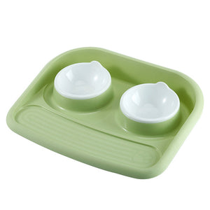 Cutie Pet Double bowl feeder - FunnyPaws