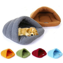 Load image into Gallery viewer, Soft Cave Bed for Puppies and Small Dogs - FunnyPaws