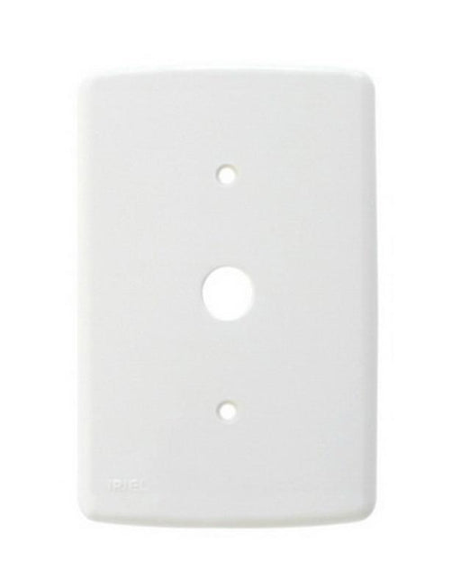 Placa com Furo 13mm 4x2 Branco Placa IRIEL