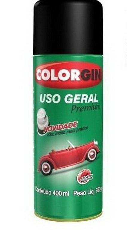 Spray Colorgin Uso Geral Pincel COLORGIN