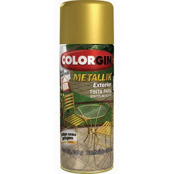 Spray Metallik Dourado 57 Spray COLORGIN