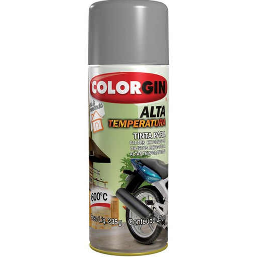 Spray Colorgin Alta Temperatura - Ferragem Thony