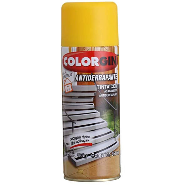 Spray Antiderrapante Amarelo 1603 Spray COLORGIN