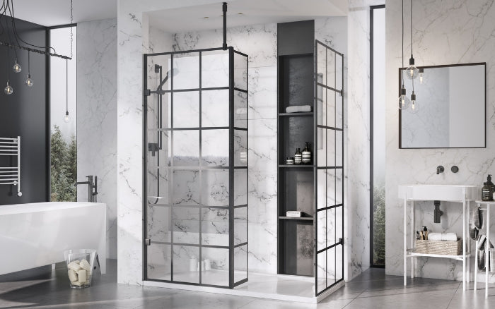 Crittall Shower Panels Enclosures Amp Screens Warehouse Home