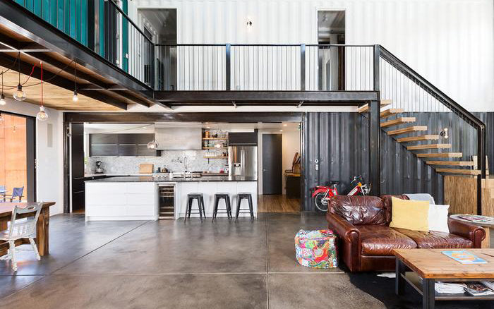 Contain Yourself A House Made Of Shipping Containers In