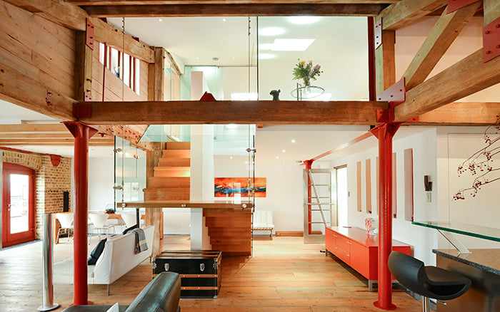 London Loft With River Views To Buy Warehouse Home