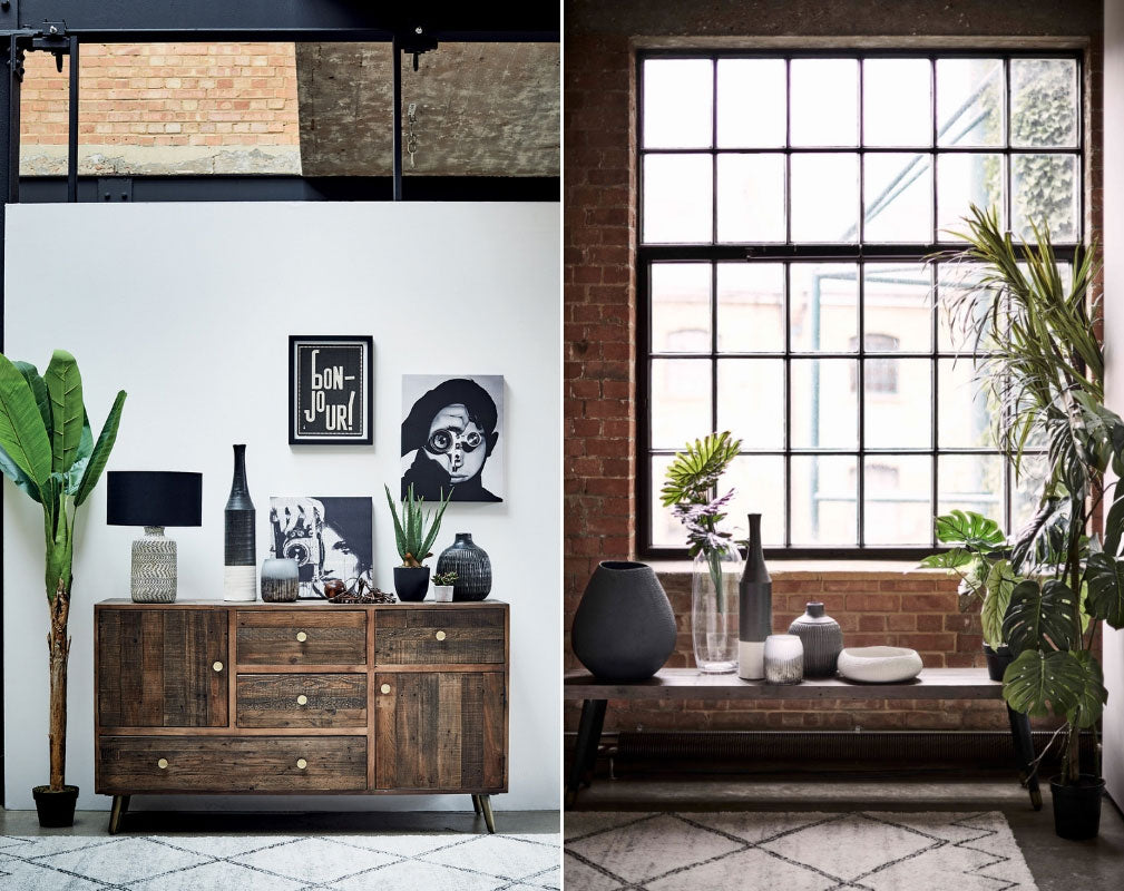 Barker & Stonehouse 'Wonder Years' Industrial Style Homewares Collection - sideboard and bench