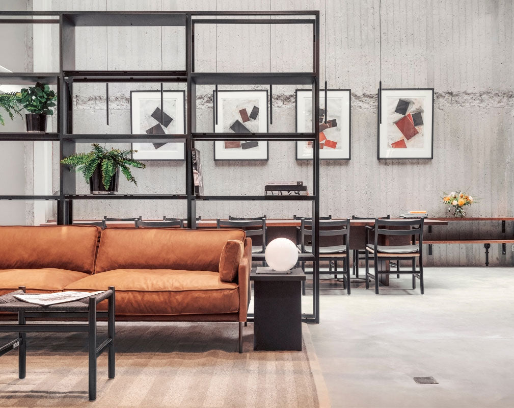 Blique by Nobis is a contemporary design hotel in Stockholm in a converted warehouse - lobby