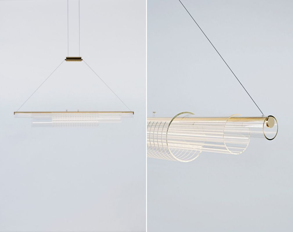 Coax Pendant light by Roll & Hill