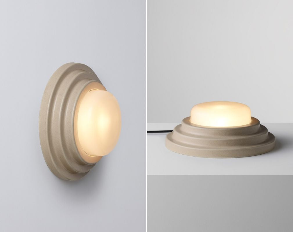 Honey table light and wall light by CocoFlip