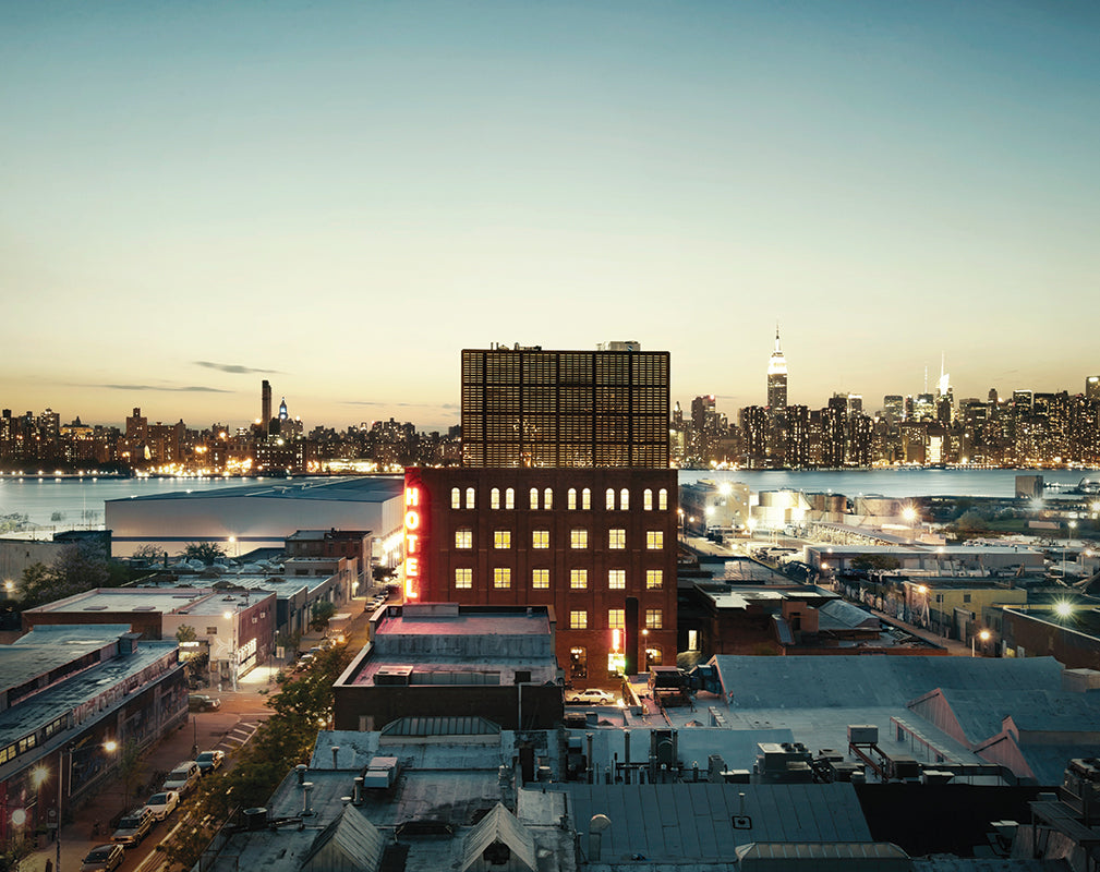 exterior of the wythe hotel brooklyn new york