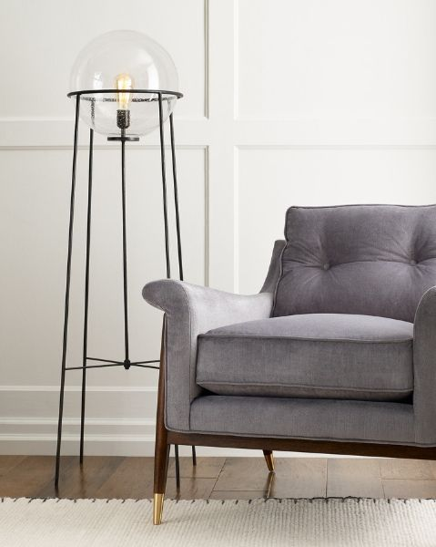 Generation Lighting x Ellen Degeneres Atlas Floor Lamp